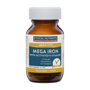 Ethical Nutrients MEGAZORB Mega Iron with Activated B Vitamins